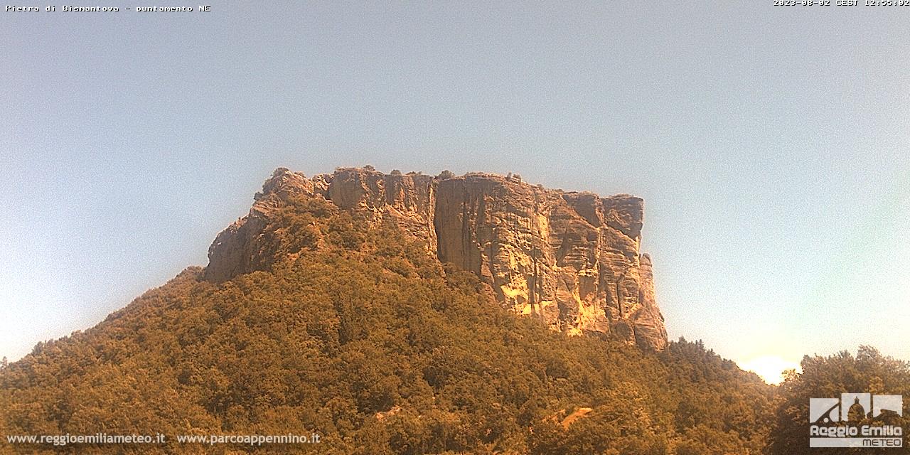 Webcam Pietra di Bismantova - Castelnovo Ne Monti RE