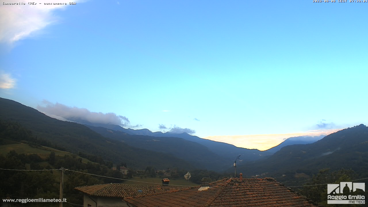 WEBCAM VENTASSO LAGHI