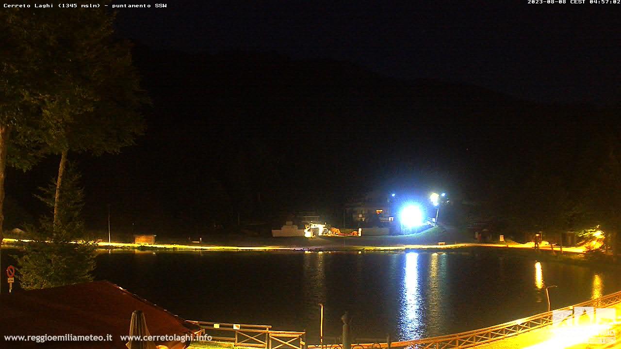 Webcam Cerreto Laghi 1345 mt slm