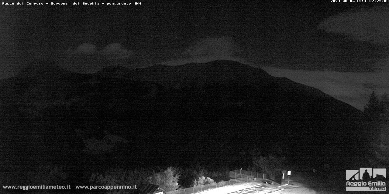 """Webcam Cerreto Laghi """"Reggio Emilia Meteo"""" Temporaneamente off line."""