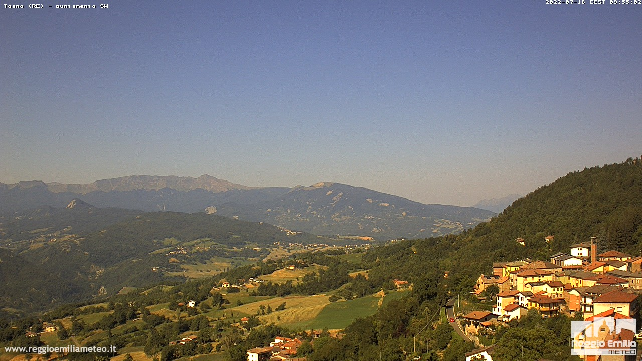 webcam toano reggio emilia, webcam provincia di Reggio-Emilia,  webcam Emilia-Romagna